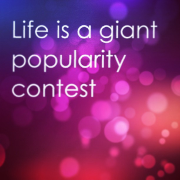 Giants quote Life is a giant popularity contest