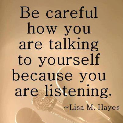 Picture quote by Lisa M. Hayes about talking