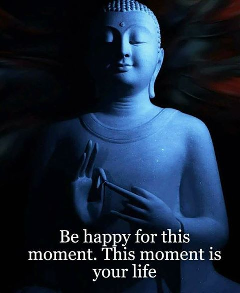 Happy life quote Be happy for this moment. This moment is your life.