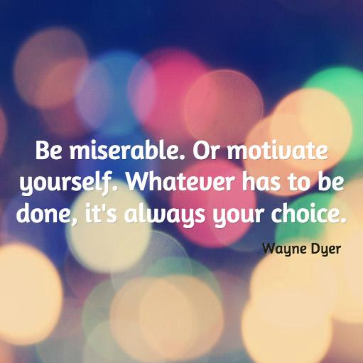 Picture quote by Wayne Dyer about motivational