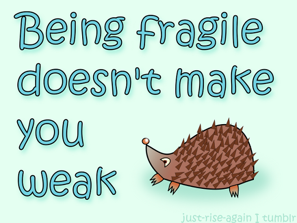 Fragile quote image