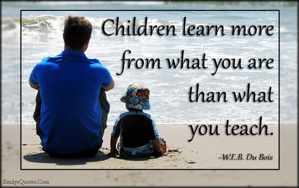 Picture quote about children
