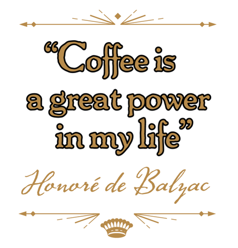 Coffee image quote by Honore de Balzac