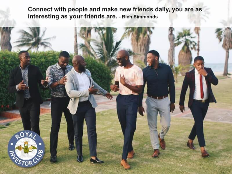 Daily bread quote Connect with people and make new friends daily, you are as interesting as your f