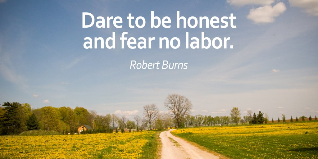 Not honest quote Dare to be honest and fear no labor.