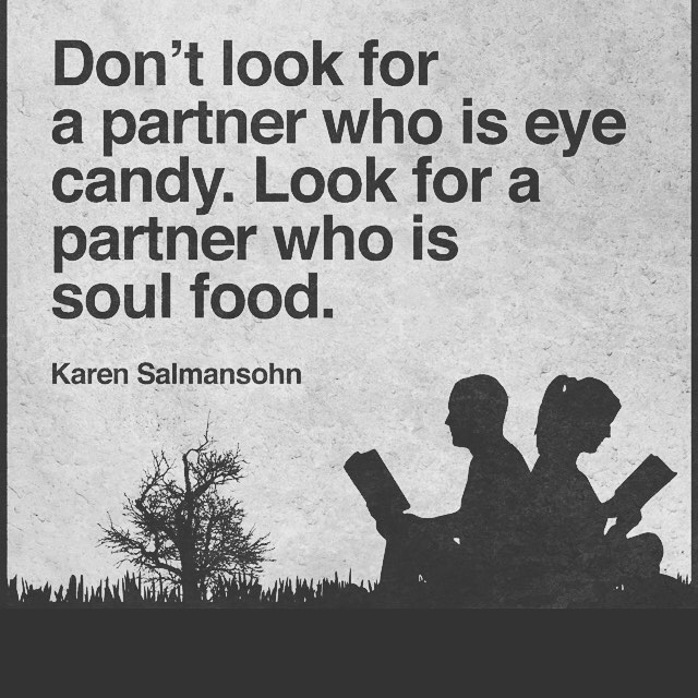 Don T Be Eye Candy Be Soul Food Quote Meaning