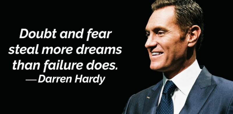 Doubt quote Doubt and fear steal more dreams than failure does.