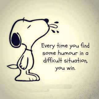 Finding yourself quote Every time you find some humor in a difficult situation, you win.