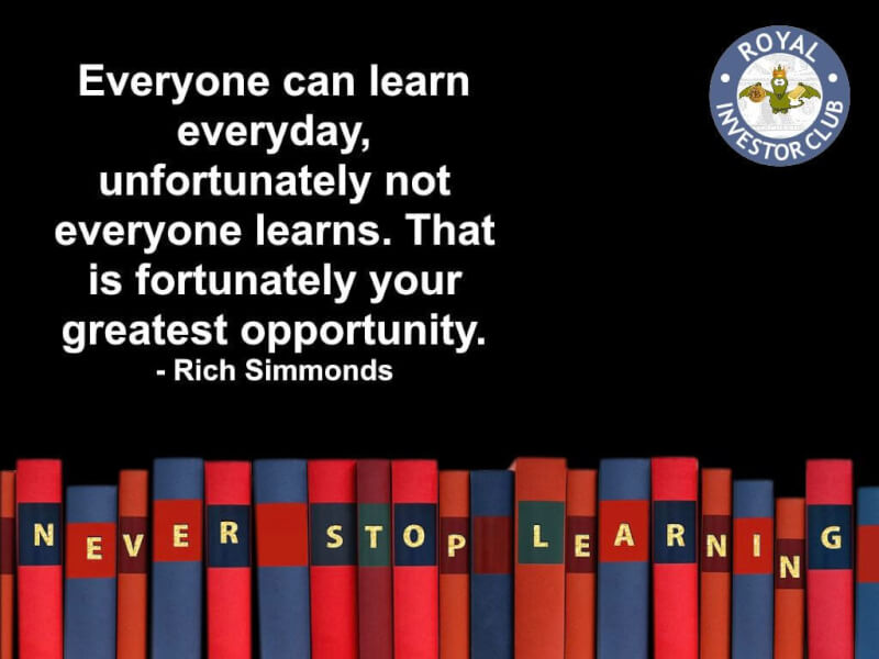 Learn quote Everyone can learn everyday, unfortunately, not everyone learns. That is, fortun