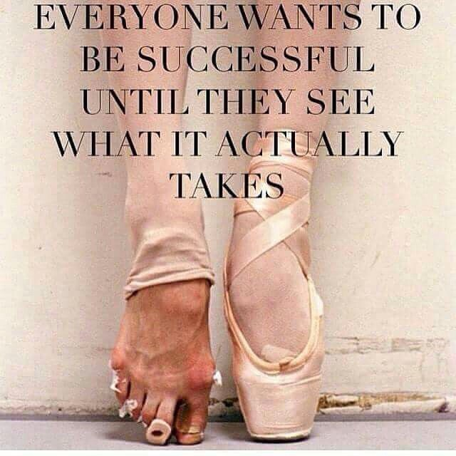 ... wants to be successful until they see wha - Picture quote by Sayings