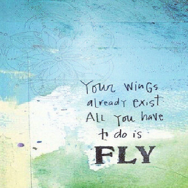 Flying image quote by