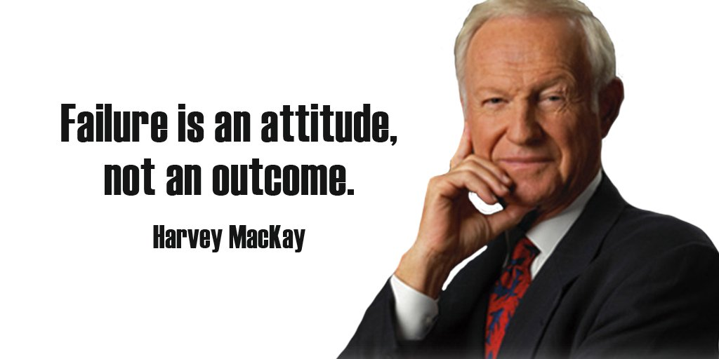 Picture quote by Harvey Mackay about attitude