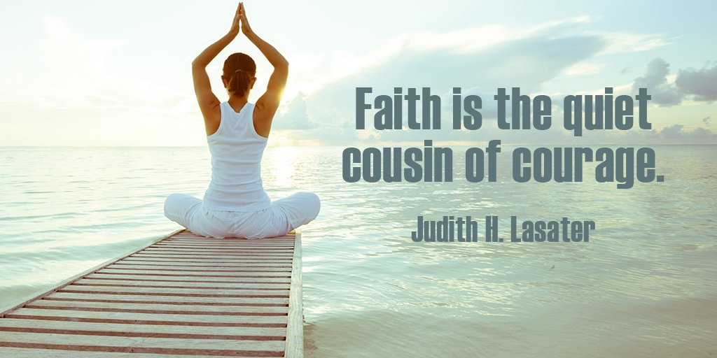 Faith image quote by Unknown