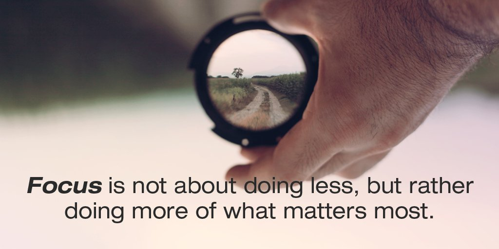 Picture quote by Sayings about focus