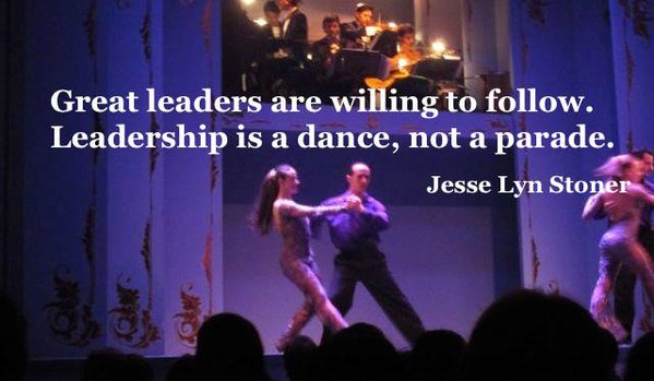 Picture quote by Jesse Lyn Stoner about leadership