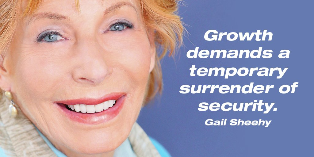 Render quote Growth demands a temporary surrender of security.