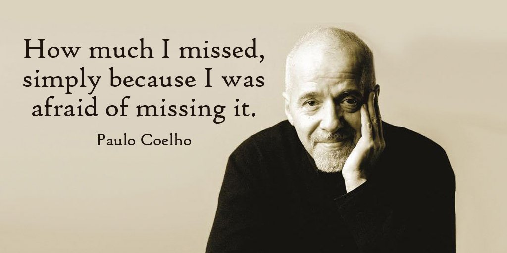 Picture quote by Paulo Coelho about chance