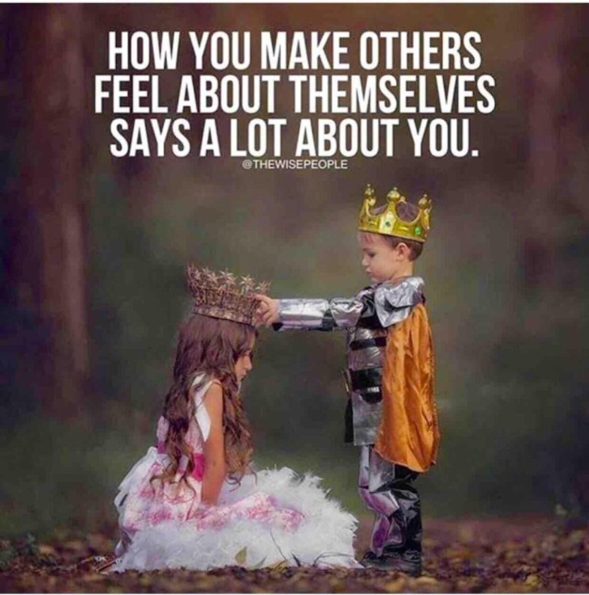 Lives of others quote How you make others feel about themselves says a lot about you.