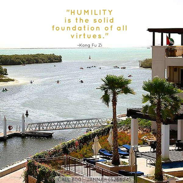 Foundation quote Humility is the solid foundation of all virtues.