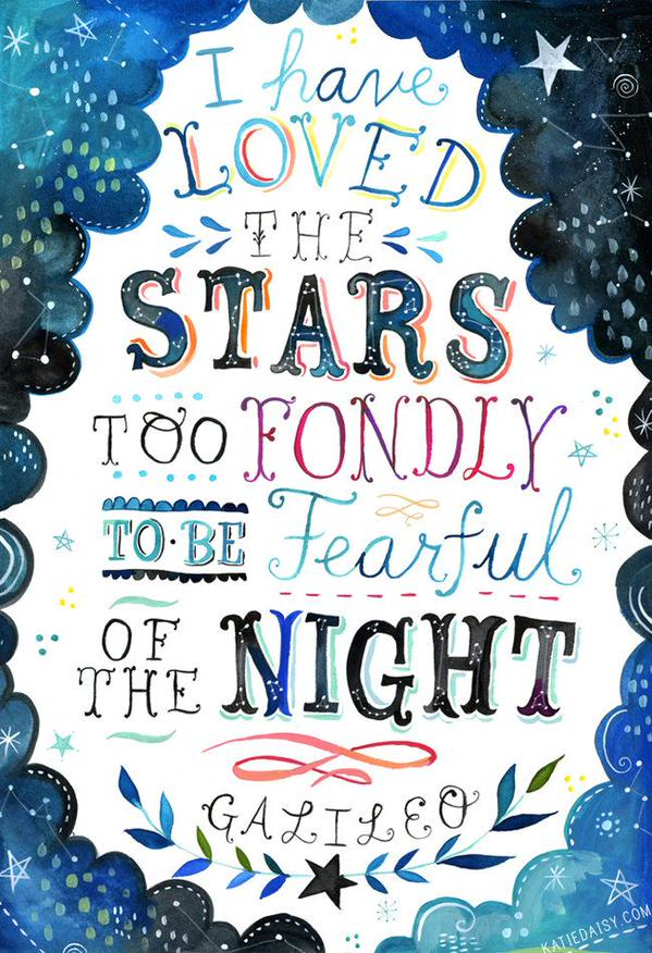 Picture quote by Galileo Galilei about stars