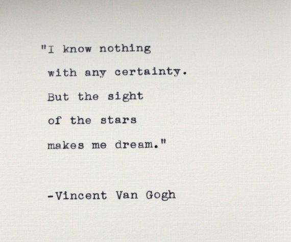 image quote by Vincent Van Gogh