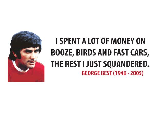 image quote by George Best