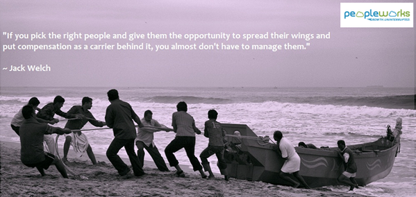 Manage quote If you pick the right people and give them the opportunity to spread their wing
