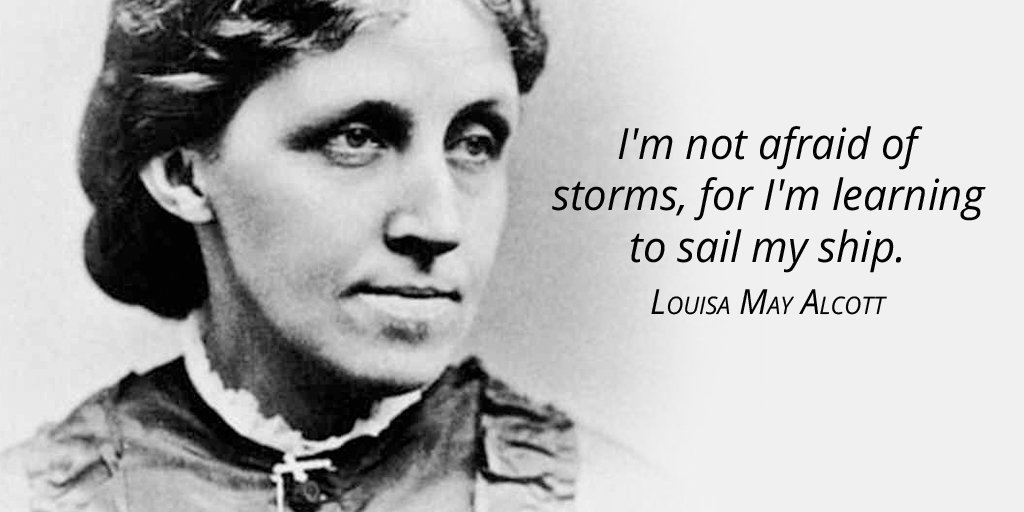 Boats and sailing quote I'm not afraid of storms, for I'm learning to sail my ship.