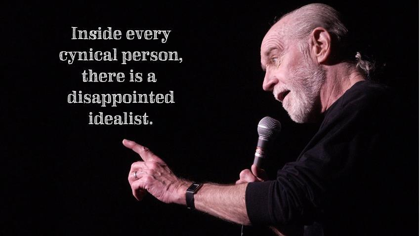 Person image quote by George Carlin