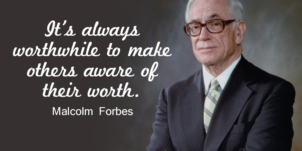 Worthwhile quote It's always worthwhile to make others aware of their worth.