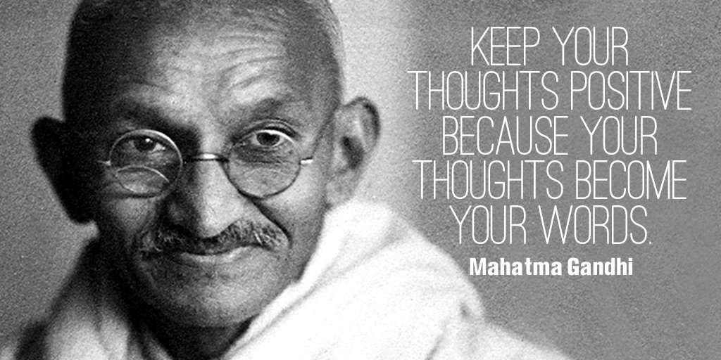 Positive thoughts quote Keep your thoughts positive because your thoughts become your words.