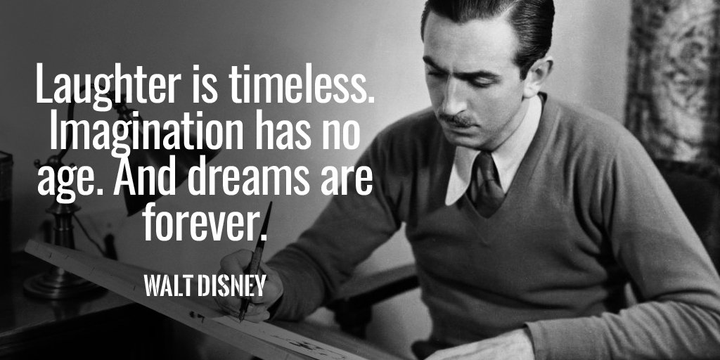 Picture quote by Walt Disney about imagination