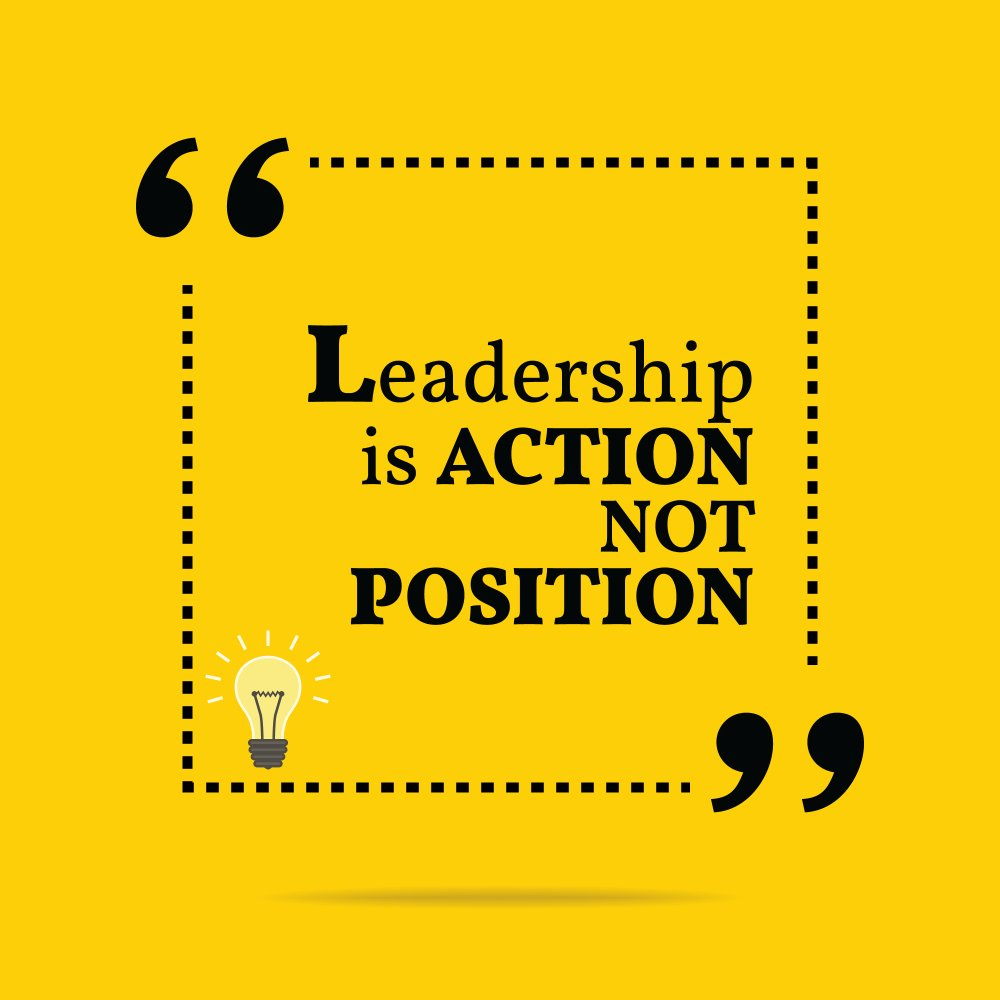 Donald H. Mcgannon quote Leadership is an action, not a position.