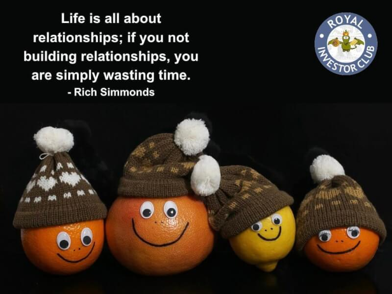 Wasted life quote Life is all about relationships; if you not building relationships, you are simp