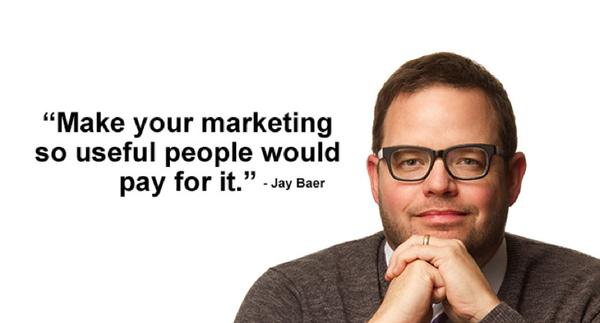 Picture quote about marketing