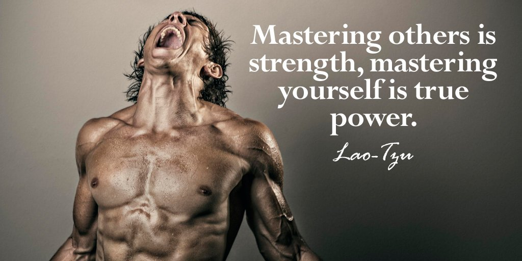 Mastering others is strength, mastering yourself is true power.