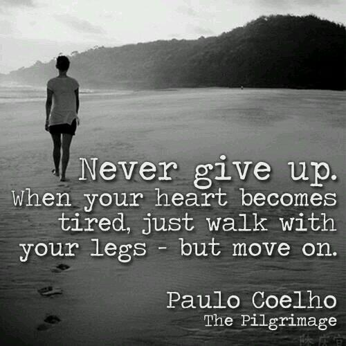 Picture quote by Paulo Coelho about motivational