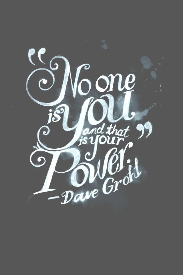 Picture quote by Dave Grohl about inspirational