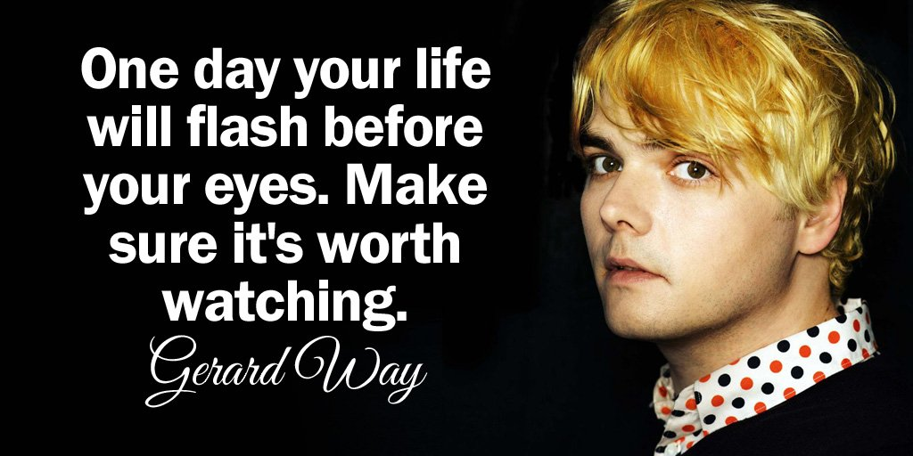 Watch quote One day your life will flash before your eyes. Make sure it's worth watching.