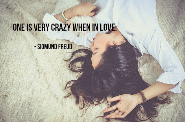 Picture quote by Sigmund Freud about love