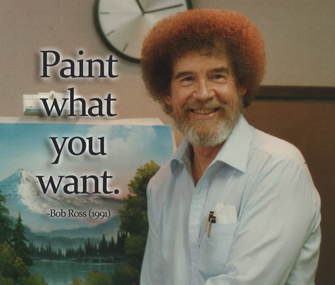 Paint quote Paint what you want.
