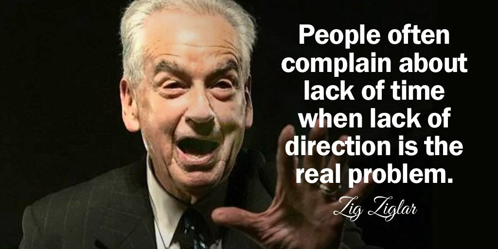Real women quote People often complain about lack of time when lack of direction is the real prob