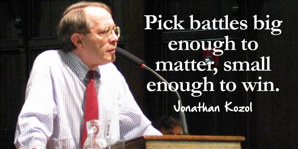 Battle quote Pick battles big enough to matter, small enough to win.
