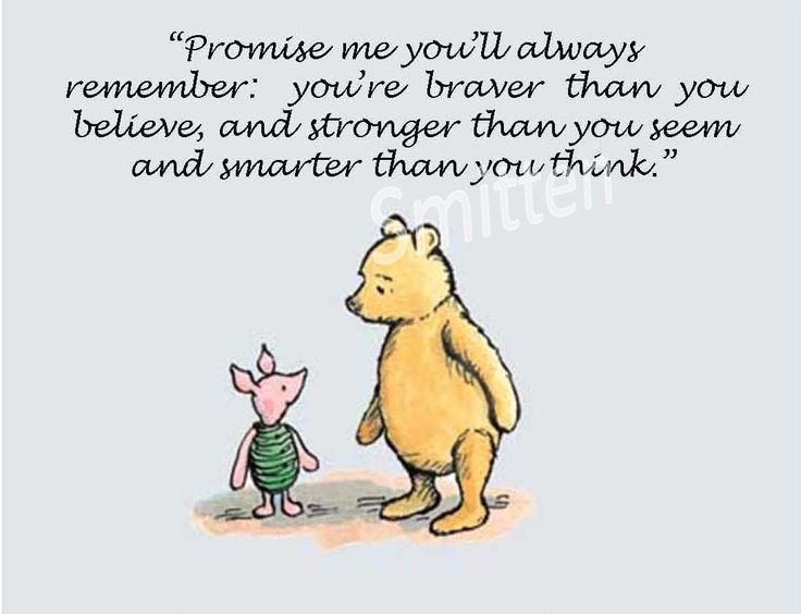 Promise Me Youll Always Remember Winnie The Pooh Motivational Image