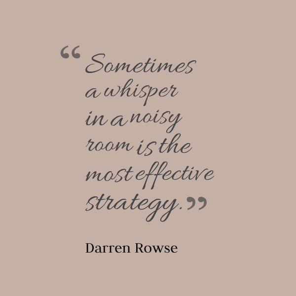 Picture quote by Darren Rowse about strategy