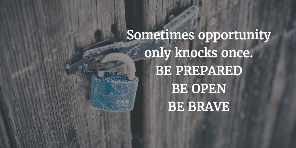 essay on opportunity seldom knocks twice Read essay topic - 'opportunity knocks once for all', opportunities are not   seldom does life offer the first type of opportunities, that which is.
