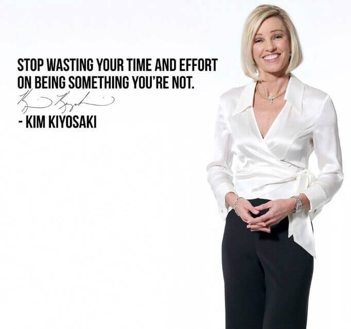 Picture quote by Kim Kiyosaki about time