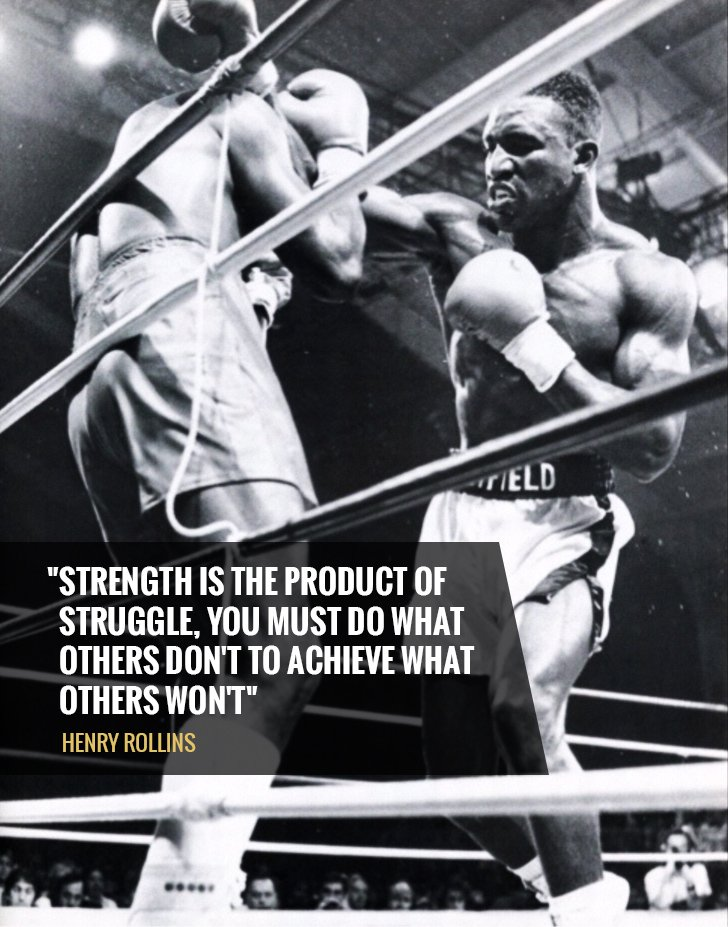 Achiever quote Strength is the product of struggle, you must do what others don't to achieve wh