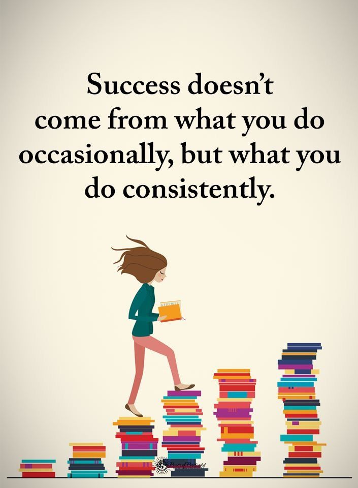 Success doesn't come from what you do occasionally, but what you do consistently. - Sayings