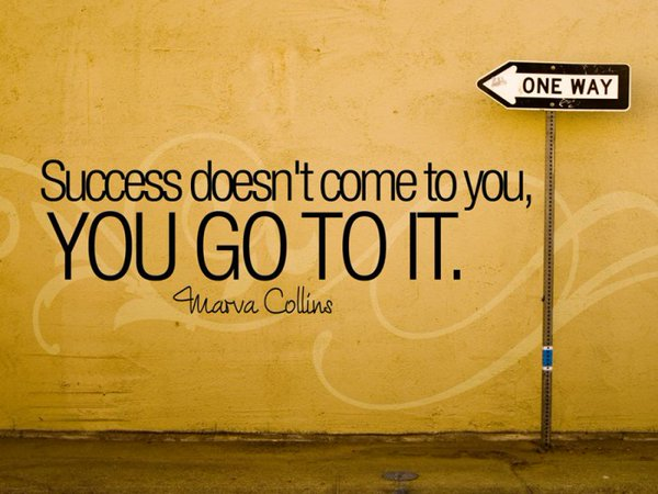Picture quote by Marva Collins about success
